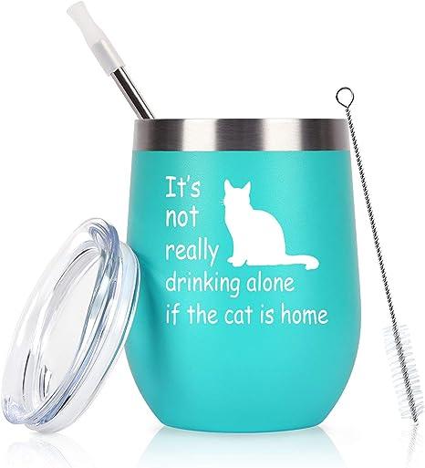 Crazy Cat Lady Cat Dad Cat Mom and Cat Dad Wine Glass Cat Lover Gift Cat Lover Gift New Cat Cat Parents Cat Mom Crazy Cat Lady Gift