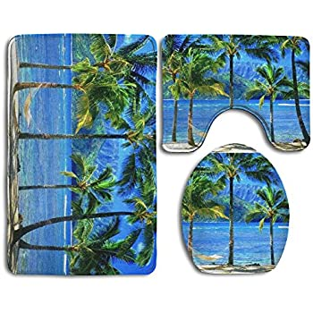 Amazon Com Besarts Hawaii Tropical Coconut Palm Tree Sea