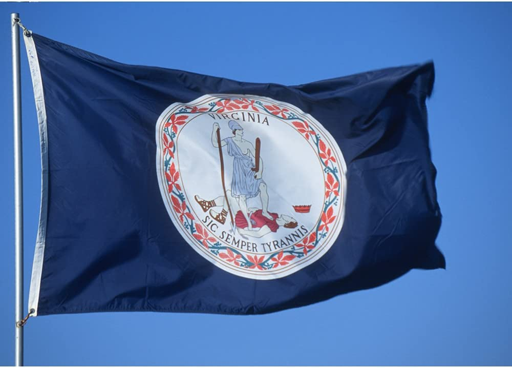 Virginia nylon flag