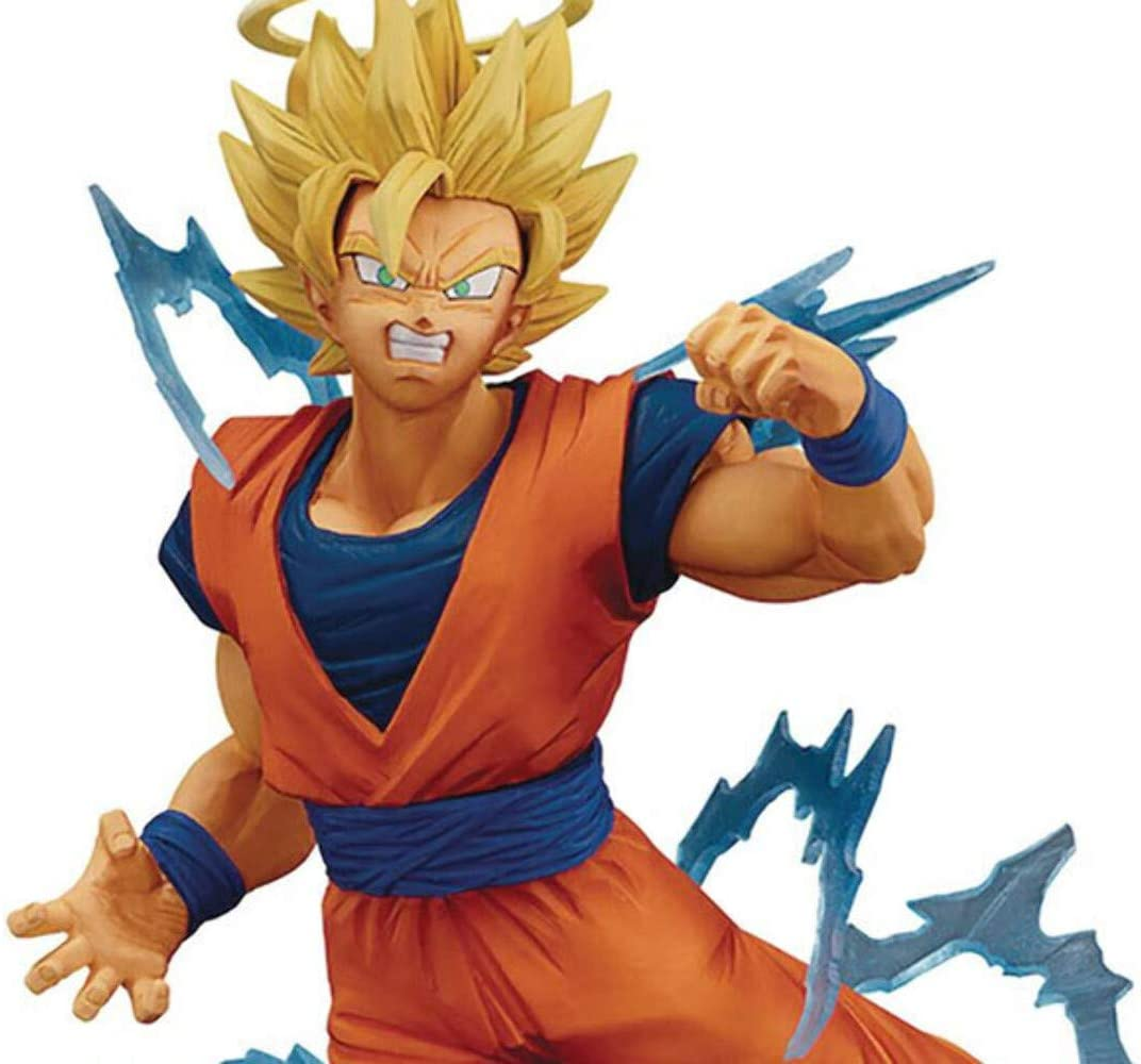 Banpresto Dragon Ball Z Dokkan Battle Collab Super Saiyan 2 Goku Multiple Colors Toys Games