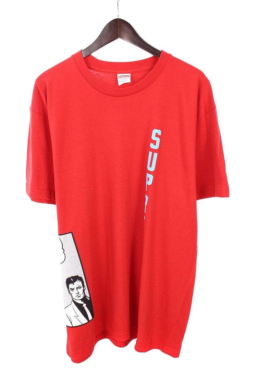 (シュプリーム) SUPREME ×スラッシャー/THRASHER 【17SS】【Boyfriend Tee】ガールコミックプリントTシャツ(XL/レッド×ブルー) 中古 B07FT54N77  -