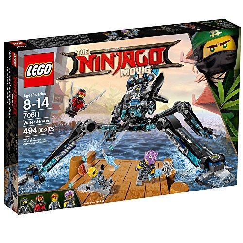 615xtzk254L - LEGO Ninjago Movie Water Strider 70611 Building Kit (494 Piece)