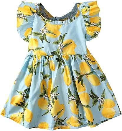 Toddler Baby Girls Summer Dress Outfits, Skirt Sunsuit Beachwear Clothes Set