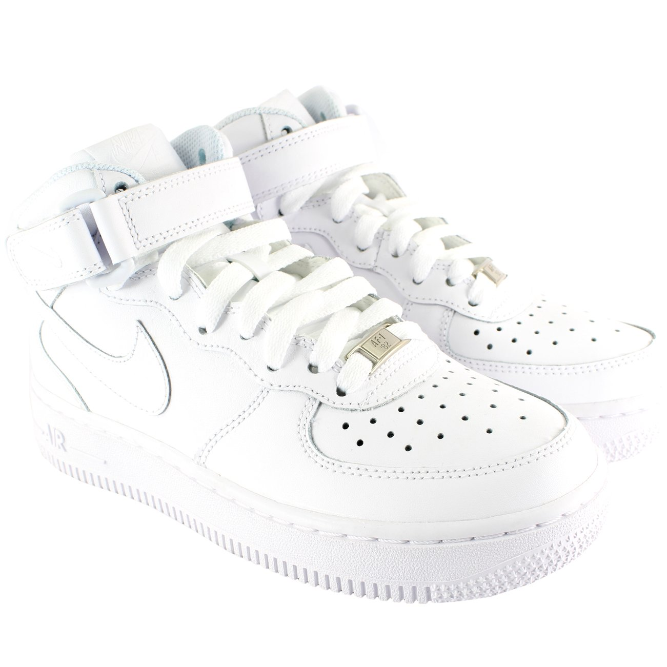 cheap for discount detailing brand new Nike MENS AIR FORCE ONE MID HIGH TOP LACE UP BOOT STYLE ...