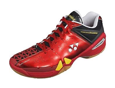Mens YONEX PC 01 MX Mens Badminton Shoe Red/Black Online Shop Size 46