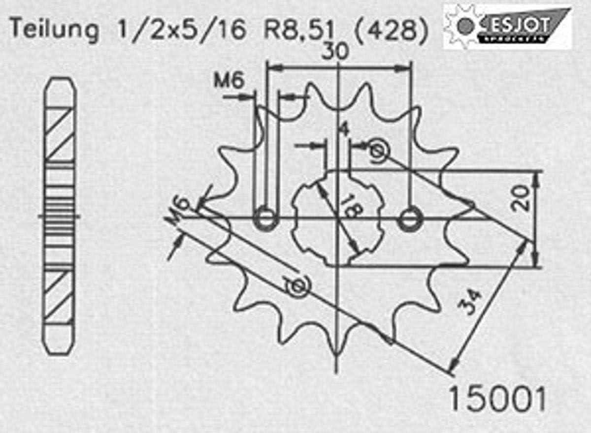 Regina Standard Kettensatz Daelim Vs 125 Ab 1997 Auto