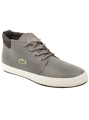2536134d4 Lacoste Mens Ampthill Terra Twd2 Sneakers in Grey Black 8.5 (Adult ...