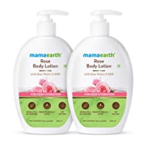 Mamaearth Rose Body Lotion – Pack of 2 (400 ml * 2)