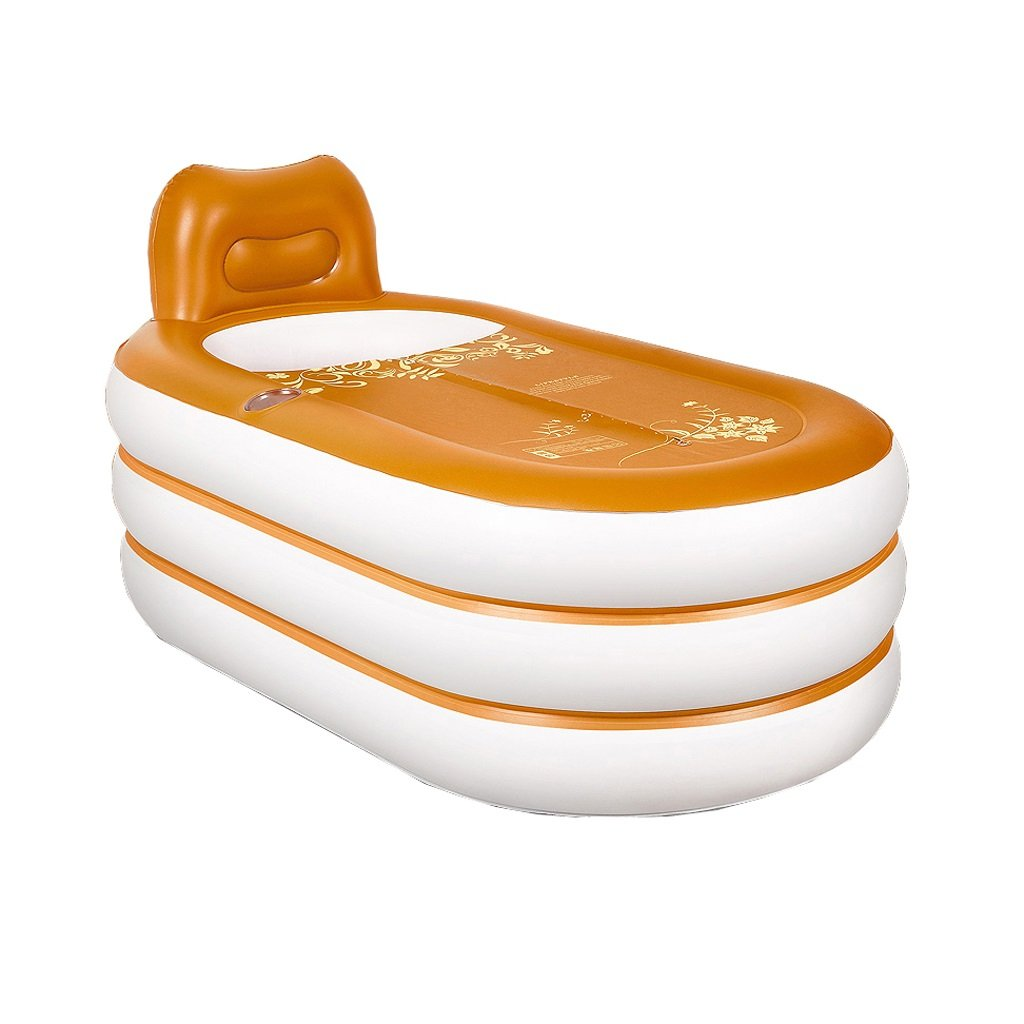 Europäische aufblasbare faltende Plastikbadewanne Haushalts-erwachsenes Kind-Kind-Bad-Eimer rutschfest/bequem/nicht leicht verformt/bequeme Lagerung (152 * 85 * 75cm)