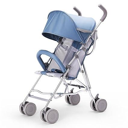 YEC Carrito de bebé cochecito de aleación de aluminio ligero ...