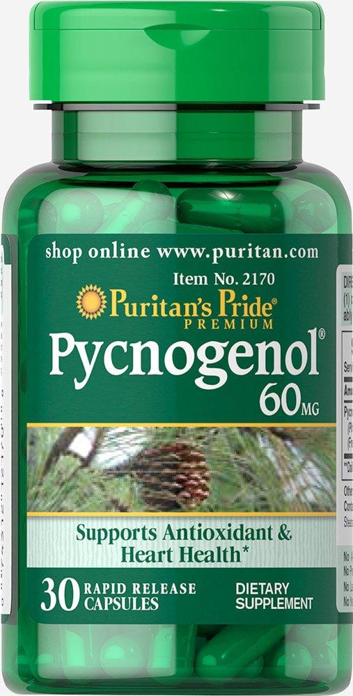 Puritan's Pride Pycnogenol 60 mg-30 Capsules
