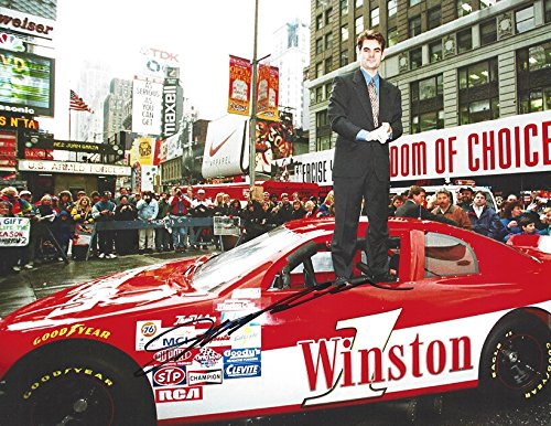 AUTOGRAPHED Jeff Gordon #24 DuPont Racing NEW YORK CITY TIMES SQUARE APPEARANCE (Winston Cup Series) Vintage NYC Signed Collectible Picture NASCAR 9X11 Inch Glossy Photo with - 11 Times Ny Ny Square