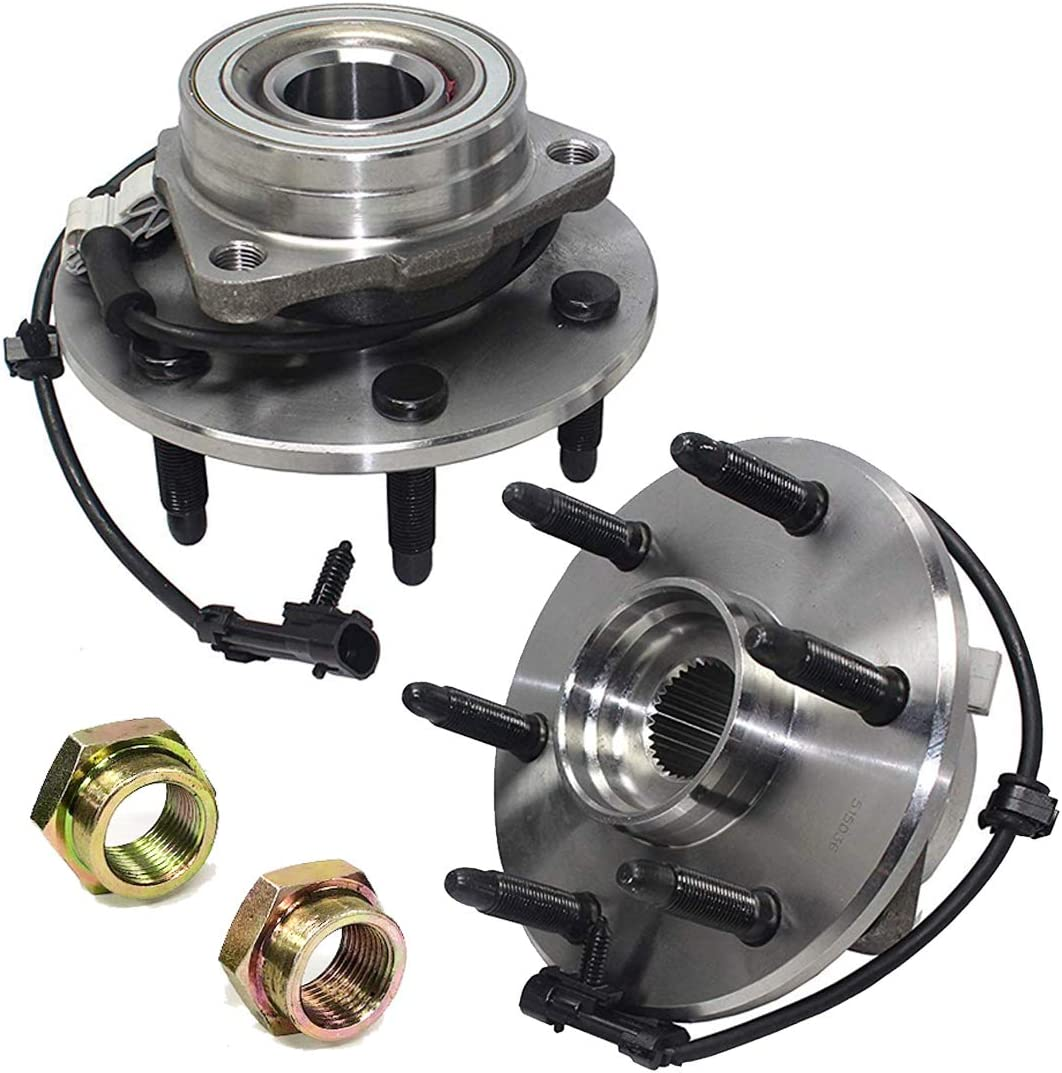 2X FRONT WHEEL HUB BEARING FOR CHEVROLET AVALANCHE 4WD 2002 2003 2004 2005 2006