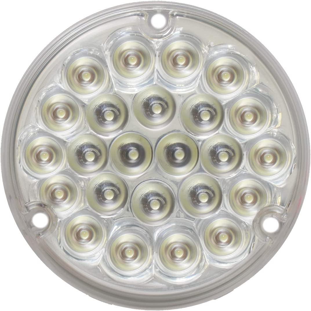 GG Grand General 76157 4 Inches Pearl Blue//Clear 24 LED Light with #1156 Socket Base