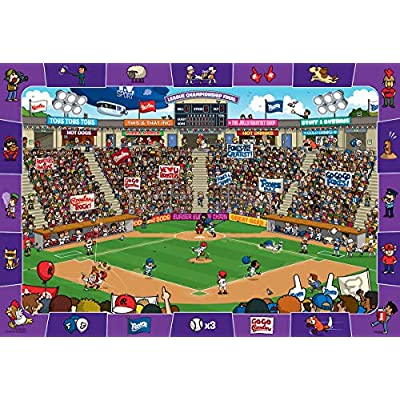 Baseball - Spot and Find 100-Piece Puzzle: Toys & Games