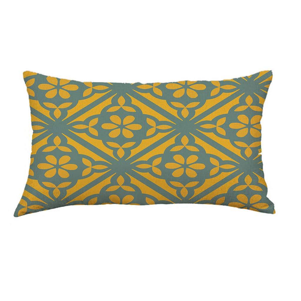 Weiliru Decorative Pillow Cover Sets 18x18 Square Pillow Cases Super Soft Short Plush Yellow Stripe