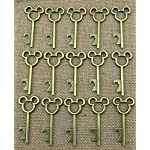 40pcs Antique Skeleton Key Bottle Opener Bronze Wedding Favor Bridal Shower Gift Steampunk Decoration Birthday Part 4