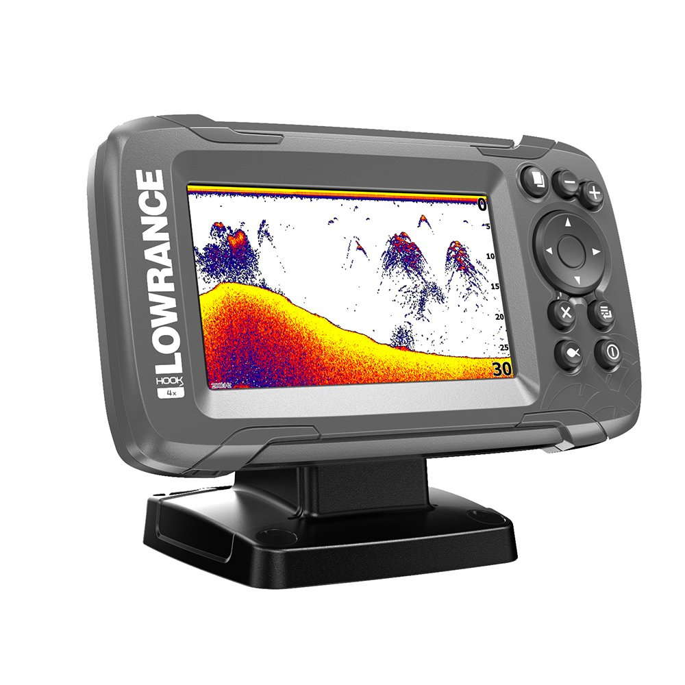 Lowrance HOOK2 4X - 4-inch Fish Finder with CHIRP Sonar