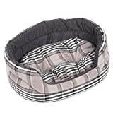 Cheap Favorite Circular Soft Warm Indoor Puppy Dog Cat Sleeping Pad Bed Cushion with Removable Mat