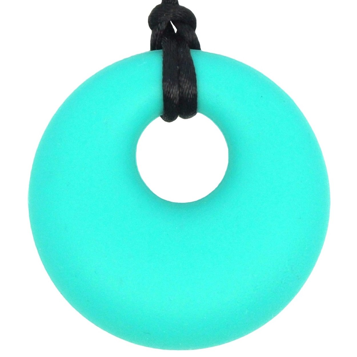 Baby Teething Necklace for Mom to Wear - BPA-Free & FDA Approved Teether - Safe & Soothing Relief For Baby (Turquoise/Teal) by Beabies   B00T2E1YMS