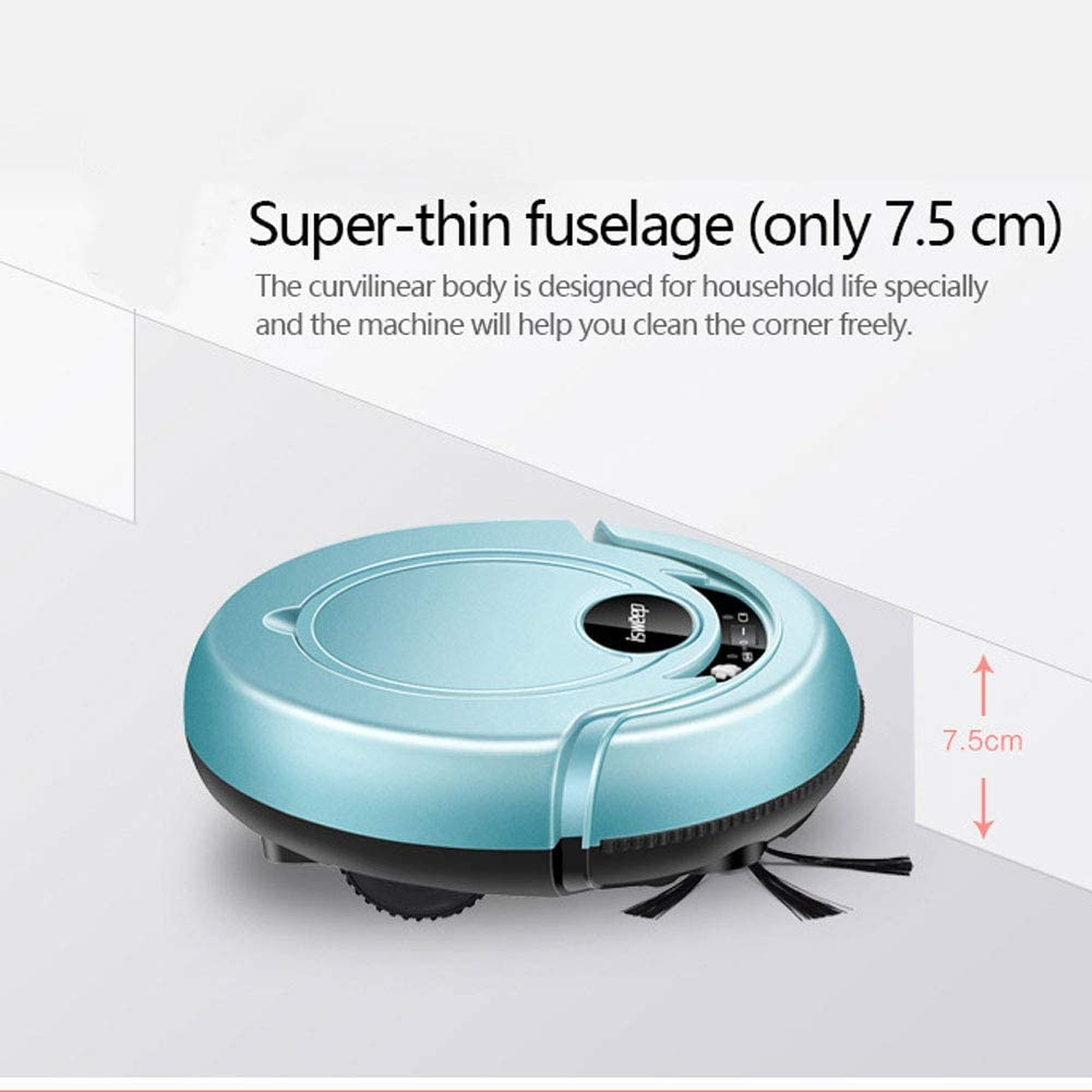 EXUVIATE Aspirateur Robot, Forte Puissance D\'aspiration, Machine De Balayage Intelligente Automatique Nettoyage Automatique,A A