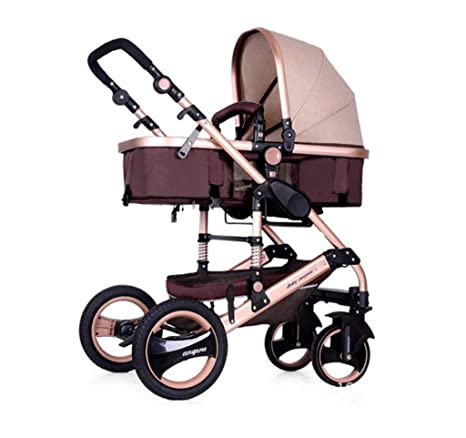carrito de bebé- Paisaje alto Carro de bebé Puede sentarse y ...