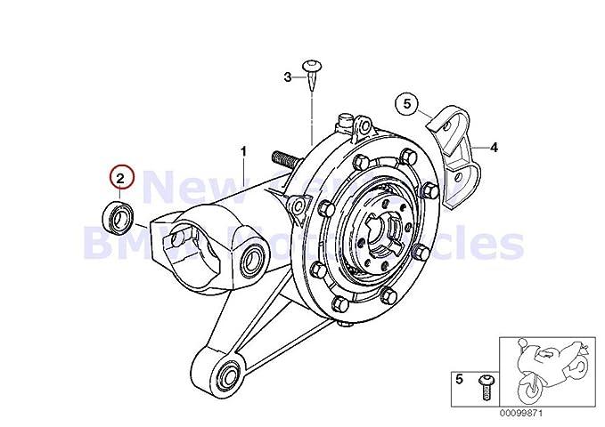 Amazon Com 2 X Bmw Genuine Motorcycle Rear Axle Drive Needle