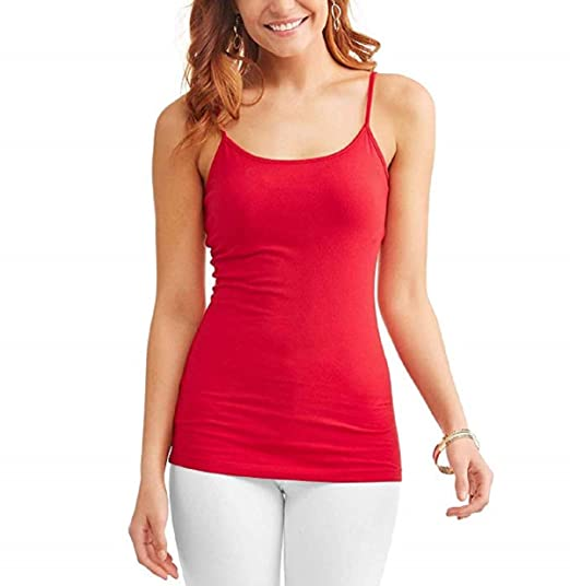 c193384eb717b Time and Tru Women s Essential Knit Layering Cami at Amazon Women s Clothing  store