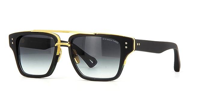 en arrivant classique doux et léger Dita - Lunettes de soleil - Homme Noir Noir/doré: Amazon.fr ...