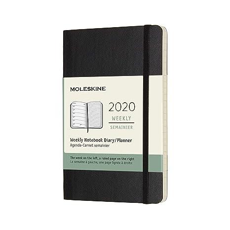 Amazon.com: Moleskine - Cuaderno semanal de 12 meses ...