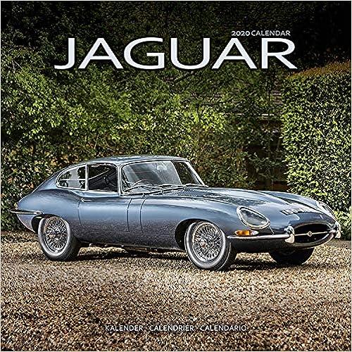 Jaguar 2020 Wall Calendar
