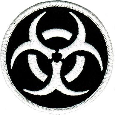 Bio-hazardous Demerit Badge ** 1.5 Diameter Embroidered Patch **