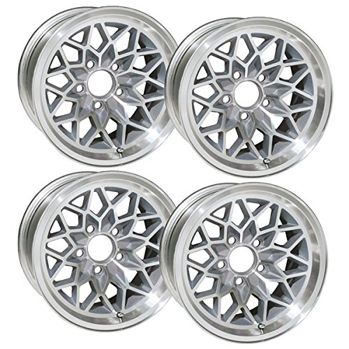 (YearOne Wheels SFW158SLVS Snowflake Wheel 15x8 )