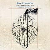 Ben Johnston: String Quartets Nos. 1, 5 & 10