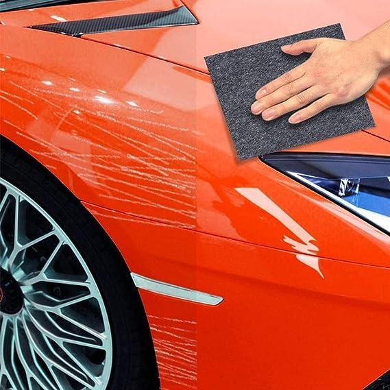 Autokratzer Reparaturtuch 3 Pcs Auto Kratzer Reparatur Wiederverwendbares Polnisches Nano Magic Scratch Entferner Repair Scratch Für Autos Touch Up Reparatur Auto