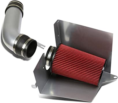 "4/"" RED Heat Shield Cold Air Intake For 96-00 Silverado//Tahoe//Suburban 5.0L//5.7L"