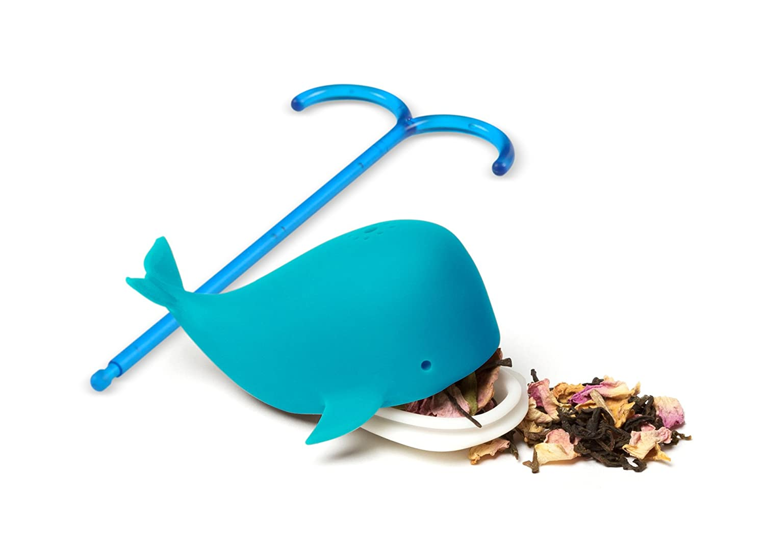 amazon com fred brew whale tea infuser kitchen u0026 dining