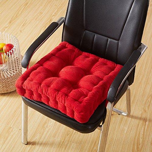 Tatami Kissen Verdickt Büro Kissen Matte Esszimmer Stuhl Kissen Computer Stuhl  Stuhl Kissen,A_40x40cm LE Stuhlkissen