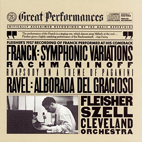 Rachmaninoff: Rhapsody on a Theme of Paganini - Franck: Symphonic Variations - Ravel: Alborada del gracioso (Rachmaninoff Variations On A Theme Of Paganini)