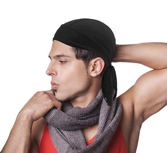 Unisex Headbands Quick Dry Sweat Wicking Bandana Hat Sports Sweatband  Headwear. Roll over image to ... 586dd9d1ebb6