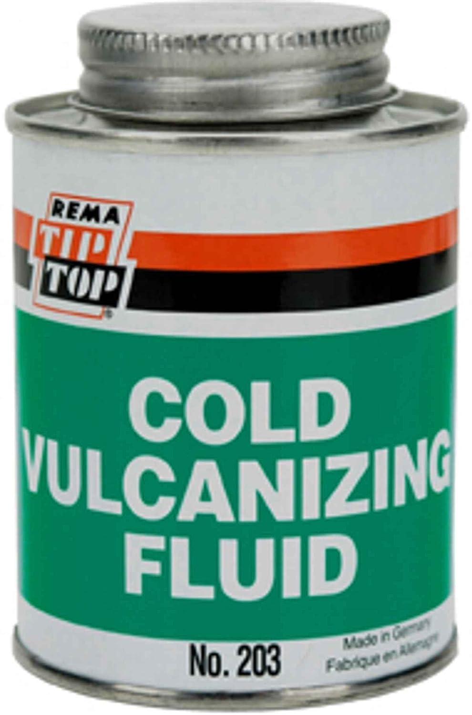 e0c541b6dce91c Amazon.com: Rema Tip Top Vulcanizing fluid, 8oz brush can ORM-D