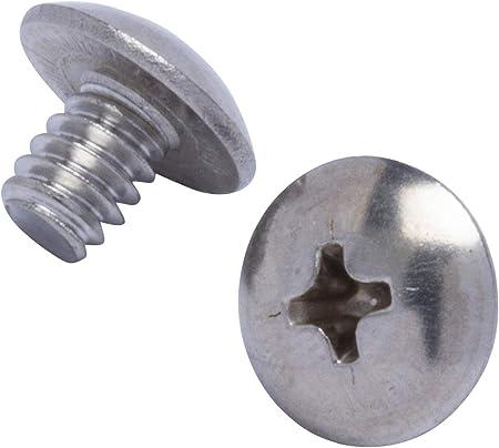 Hard-to-Find Fastener 014973236809 Combo Round Machine Screws 1//4-20 x 1//2 Piece-100