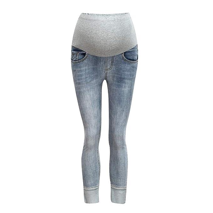 nuovo concetto c7f73 47018 TT-Premaman Jeans Premaman Donna, Regolabili maternità ...