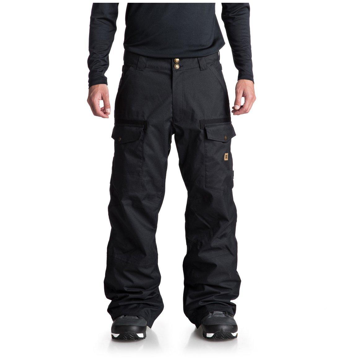 Noir - noir L DC chaussures Code - Pantalon de Snow pour Homme EDYTP03035