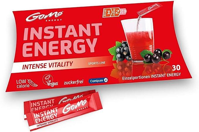 GoMo ENERGY® Bebida Energética sin azúcar deportiva ...