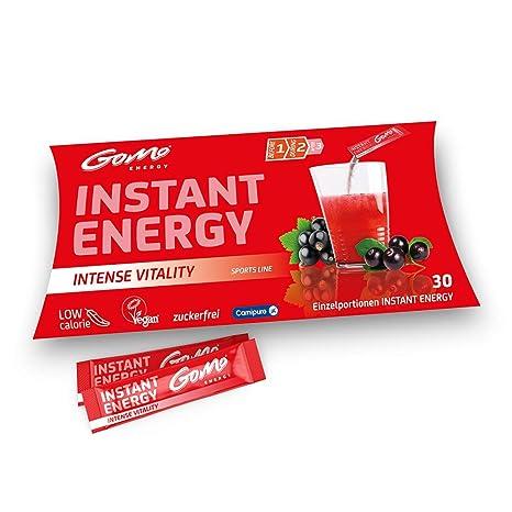 GoMo ENERGY® Bebida Energética sin azúcar deportiva | Fuerte amplificador para el cuerpo y el