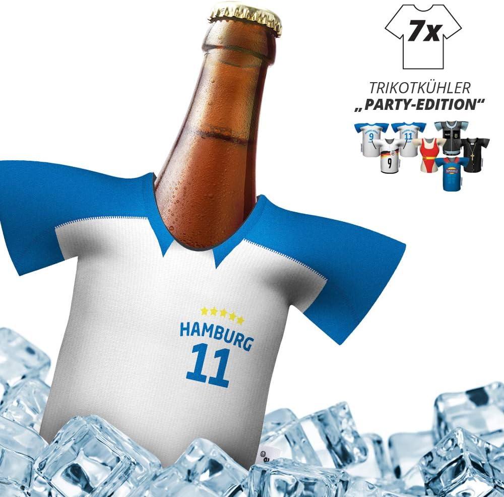 Mein Hamburg Trikotk/ühler Home-Trikot Herren Bier Flaschenk/ühler /& Fanartikel by Ligakakao.de Fan-Edition f/ür Zuhause Eiskalter Biergenuss Jedes Tor Jeden Moment Jedes Spiel