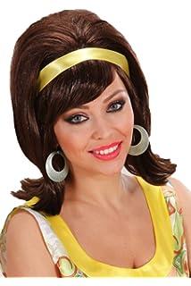 Sofias Closet Ladies 50s 60s Blonde Black Brown Brunette Mod Go Go Girl  Fancy Dress Wig 0db47697de