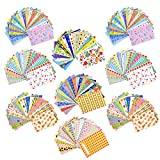 Sunmns 180 Sheets Colorful Photo Instant Films Stickers for FujiFilm Instax Mini 9/8/ 7s/ 70/25/ 50s/ 90 Camera Film