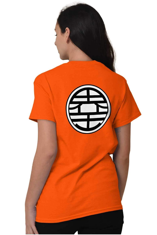 e349372a8 Amazon.com: Brisco Brands Goku Vegeta Kai Symbol Master Anime Show T Shirt  Tee: Clothing